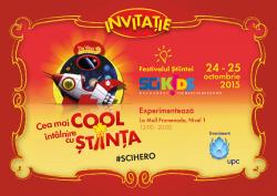SCIKiDS Festivalul Stiintei 2015 Mall Promenada
